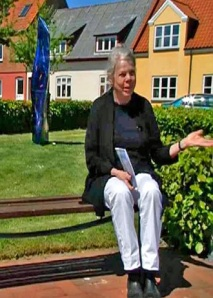 Kirsten Ernst ved Blå Form.