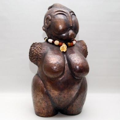 Venus med halskæde
