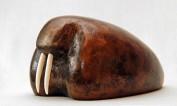 Hvalros med tænder af hvalrostand