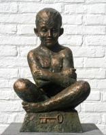 Il segreto, bronze. 55 x 28 x 28 cm.
