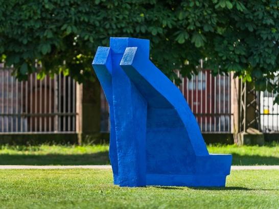 Trine Brix' Stiletbænk i Kongens Have.