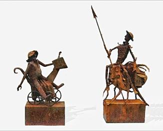 Jørgen Minor: Don Quijote & Sancho Pansa.