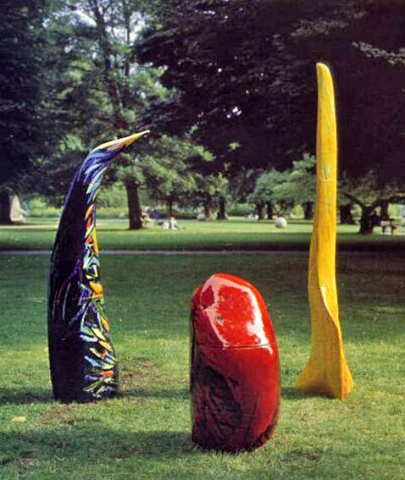 Gruppe fra SkulpturBiennalen 2004 i Kongens Have