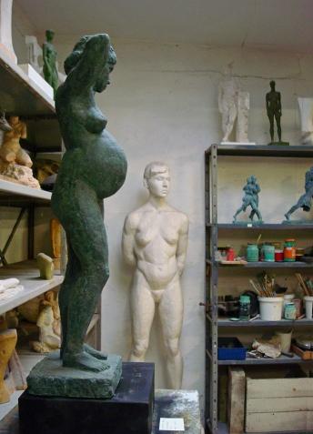 Fra Ole Buntons atelier