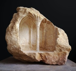 """Chapter House III"" - 2013, limestone, height 34 cm"