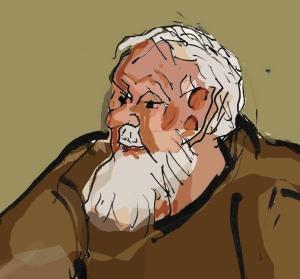 Poul Frederiksen tegning