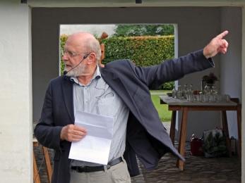 Hovedtaleren Johannes Nørregard Frandsen