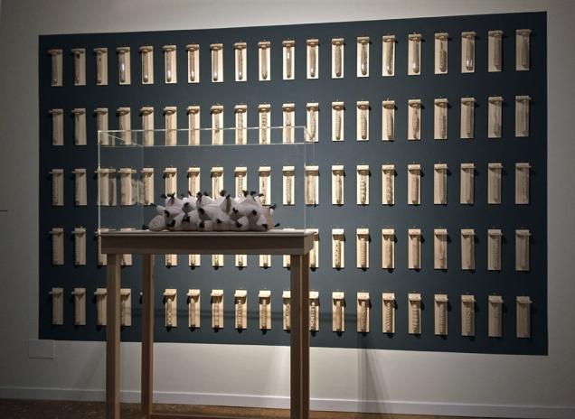 Lars Waldemar ved Venedig Biennalen 2017: 101 statements about biodiversity.